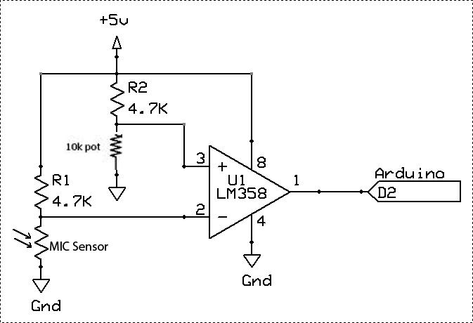 Amplificator operațional LM358 Compatibil Arduino
