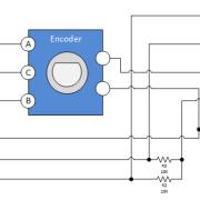 Rotary-Encoder-Module-roboromania-Schematic