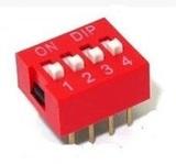 comutator-2-linii-4-pini-rosu-roboromania