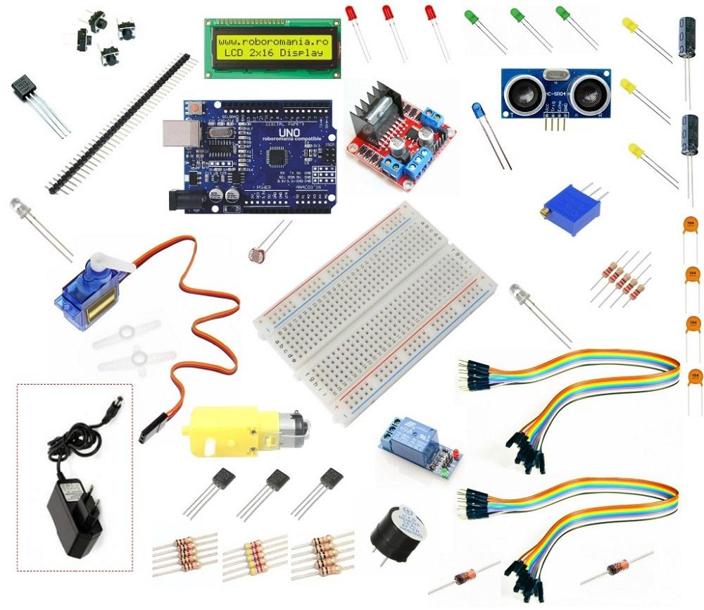 Arduino compatibil starter kit – Construiește singur