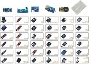 42 Sensors Module Kit-roboromania-fata