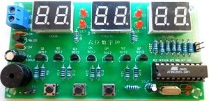 Ceas-Digital-Clock-DIY-Kit-roboromania-fata