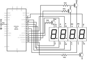 4-digit-7-segment-led-catod-comun-arduino