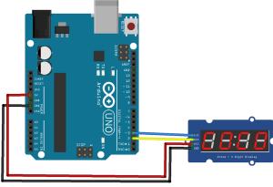 Arduino-TM1637-roboromania-ex