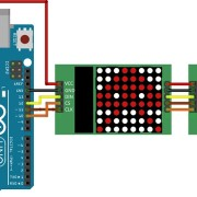 Modul-LED-8×8-Dot-Matrix-Display-ard-roboromania