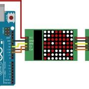 Modul-LED-8×8-Dot-Matrix-Display-ard-roboromania