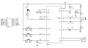 Modul-înregistrare-vocală-ISD1820-schema-roboromania