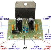 amplificator-2×15-TDA7297-roboromania-pini