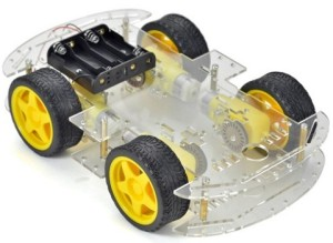 Kit-șasiu-4WD-Robot-Car-Chassis-Kit-roboromania-montat