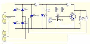 Kit-220v-Bulb-Lamp-Sound-Activated-Auto-Delay-Switch-Suite-Trousse-Light-Control-roboromania-schema
