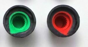 plastic-knob-blue-roboromania-stea
