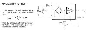 application-l194-15-voltage-regulators-15v-with-rectifying-bridge