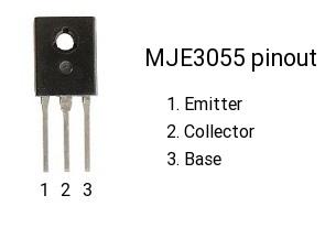 mje3055-pinout