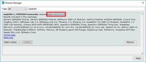 2-esp8266-board-add-on-in-arduino-ide-installed