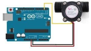 Senzor-debit-Arduino