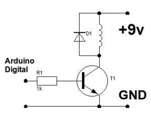 Kit-Releu-9v-Arduino-example