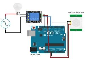 Arduino-pir-releu-bec