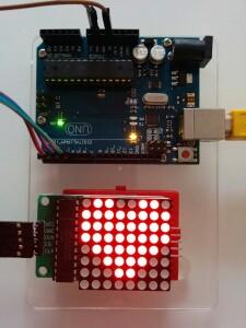 Matrix Arduino MAX7219